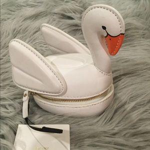 Kate spade swan coin purse